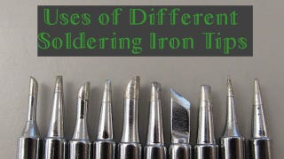 Illustration for article titled When to Use Each Different Type of Soldering Tip