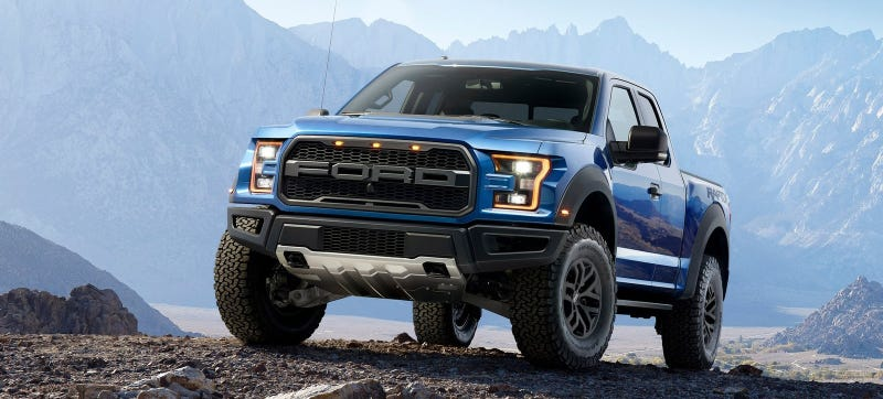 Aww Yeah The 2017 Ford Raptor S Twin Turbo V6 Puts Out 450 Horsepower