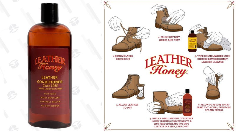 Leather Honey Leather Conditioner | $17 | Amazon | With Subscribe & Save and $1 coupon