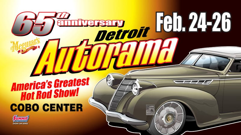 Illustration for article titled Detroit Autorama tomorrow/Friday