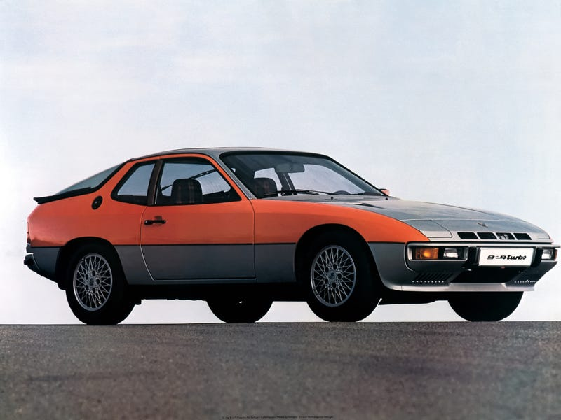 Illustration for article titled I'm not saying the 924 Turbo looks better than the 944