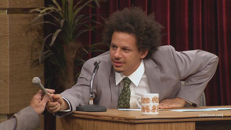 Illustration for article titled Eric Andre will join Jay Baruchel's new FX comedy pilot