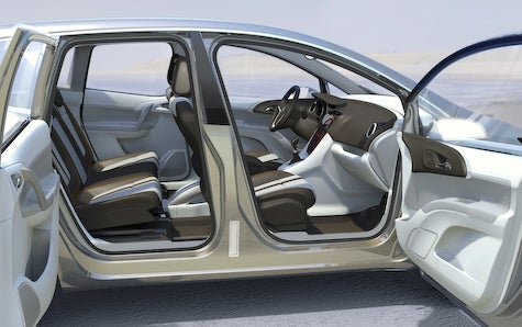 We know them as suicide doors but whatever. The rear doors hinge at the back capable of opening separately from the fronts ... & Vauxhall Unveils Meriva Concept Suicide Doors Are The Hotness