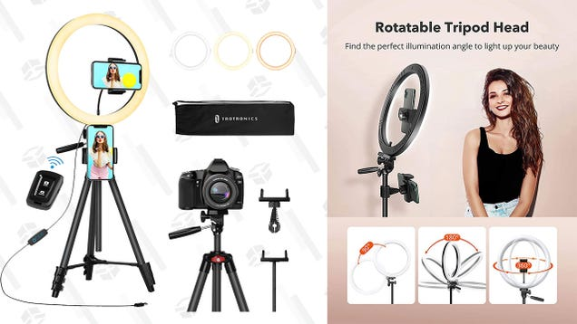 Start Your Vlogging Career With 40% off a Taotronics 12  Ring Light