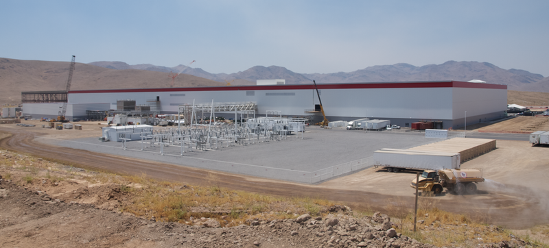 Illustration for article titled Tesla's Gigafactory Is Now Actively Cranking Out Batteries