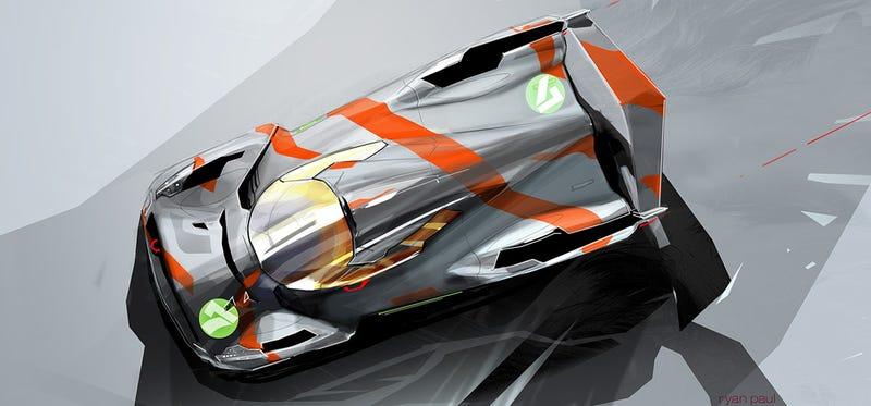 Illustration for article titled Le Mans 2012