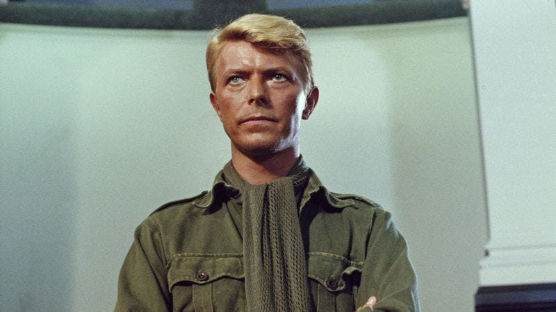 Illustration for article titled David Bowie shines in an ambiguous POW drama