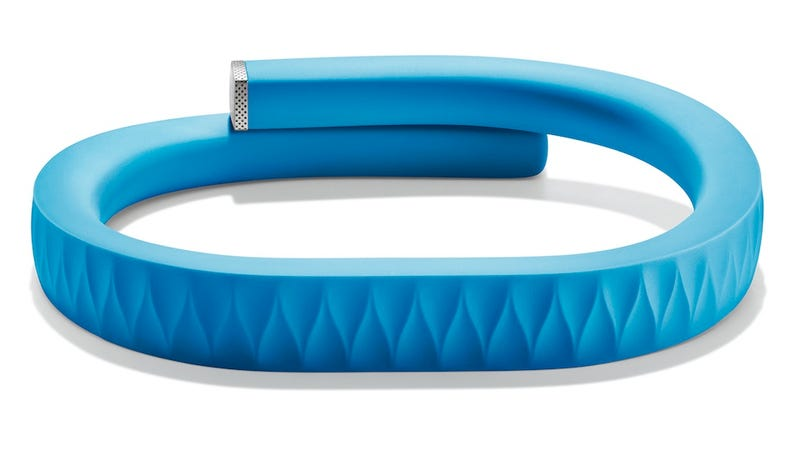 Illustration for article titled Jawbone's Up Bracelet Tracks Your Body as It Sleeps, Eats, or Sits Around Getting Fat
