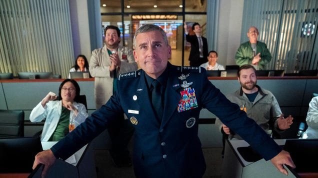Steve Carell commands a Space Force in first look at Greg Daniels' new Netflix comedy
