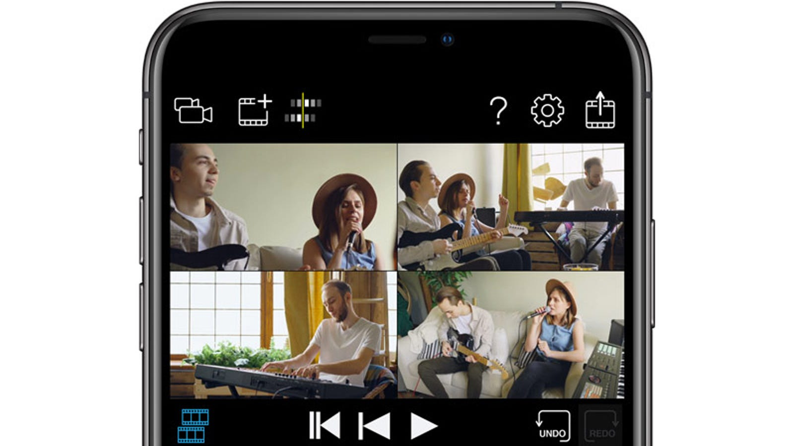 Roland's New iOS App Turns a Bunch of iPhones Into a Multi-Camera TV Studio