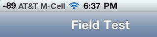 Illustration for article titled Check Your iPhone 4's Antenna Reception With Field Test Mode In iOS 4.1