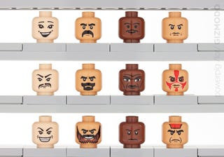 Illustration for article titled Hollywood's Racism Exposed ... by Lego