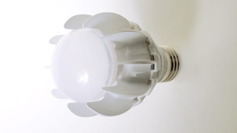 Illustration for article titled GE Figures Out How to Squeeze 100W of Light from a 27W LED Bulb