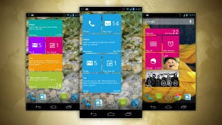 Illustration for article titled Real Widget Brings Windows' Tiled Interface on Your Android