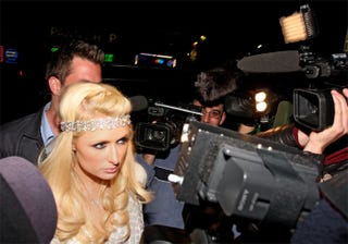 Illustration for article titled Paris Hilton Says: Talk To The Band
