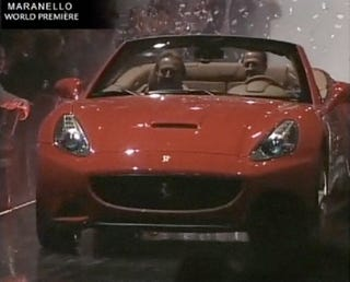 Illustration for article titled Ferrari California, Really Revealed, Live!