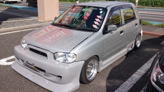 Can This Stanced Suzuki Kei Car Get Any Crazier?