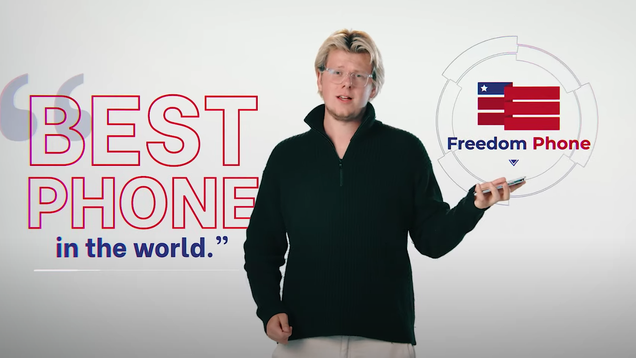 MAGA-Branded  Freedom Phone  Is a Black Box That Should Be Avoided at All Costs