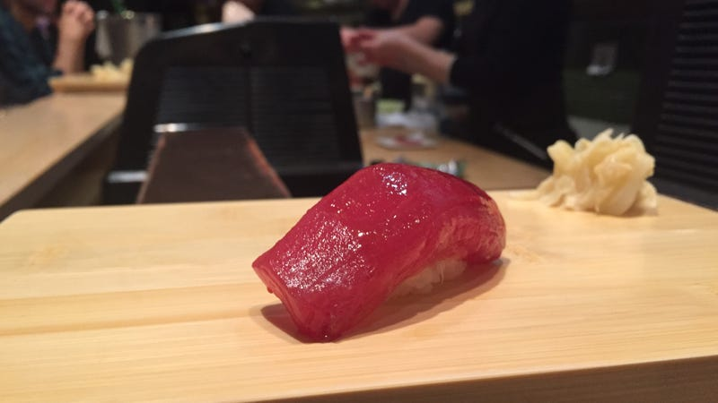 This is a very nice piece of sushi I enjoyed once (Image: Ryan F. Mandelbaum)