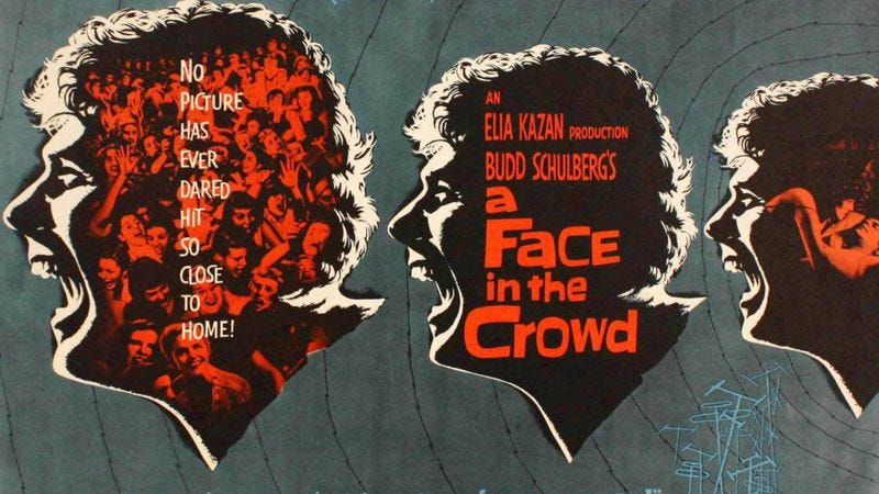 Credit: Face In The Crowd poster designed by Bill Gold