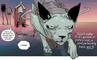Illustration for article titled Brian K. Vaughan And Fiona Staples Reveal What's Ahead For Saga