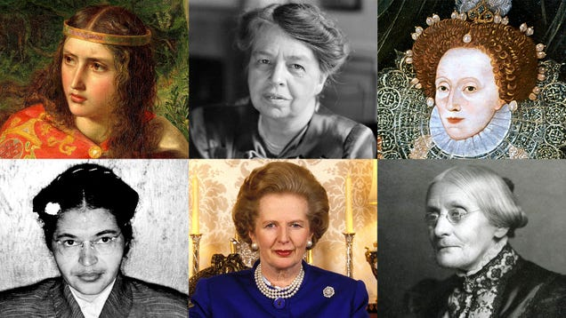20 Women Throughout History And 5 From The Future