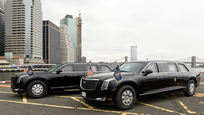 Illustration for article titled Here's The New Presidential Beast Limo