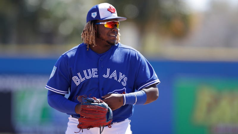 Illustration for article titled Vlad Jr. Is Finally, Finally Bringing His Mighty Dingers To The Majors