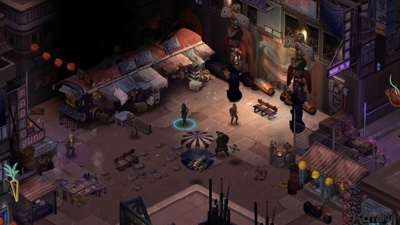 Illustration for article titled Shadowrun Returns Slips From The Shadows July 25