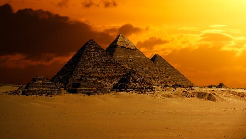 Illustration for article titled Un hallazgo fortuito podría haber revelado el secreto mejor guardado por los egipcios: cómo construyeron las pirámides