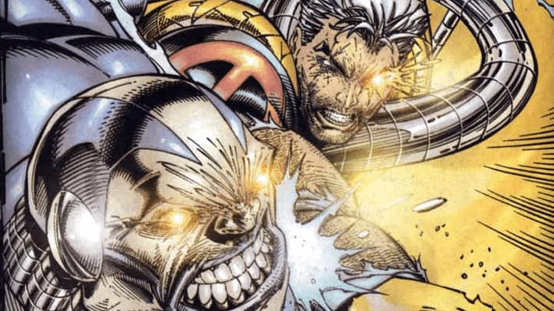 Cable in the comics (Image: Marvei)