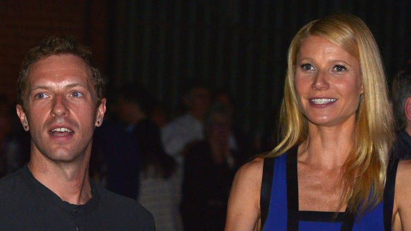 Illustration for article titled Chris Martin Says He and Gwyneth Are Just 'Friends and Proud Parents'