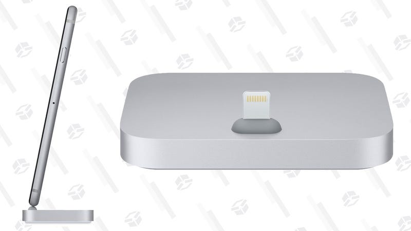 Apple iPhone Lightning Dock - Space Gray | $25 | Amazon