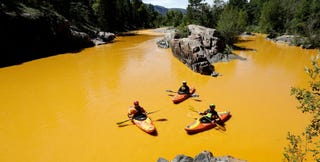 """Illustration for article titled EPA Knew of """"Blowout"""" Risk at Gold King Mine"""