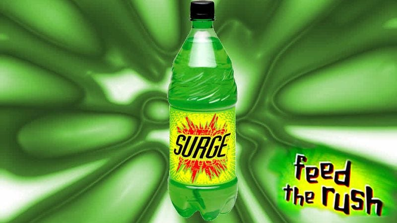 Illustration for article titled The '90s are back, and thus so is Surge
