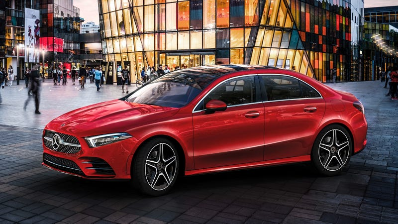 Illustration for article titled I Live And Breathe For The Long Wheelbase 2019 Mercedes-Benz A-Class L Sedan