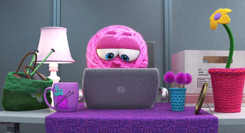 Meet Pixar's latest creation, Purl.