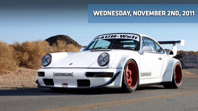 Illustration for article titled RAUH-Welt Porsche is a Hoonigan, Chrysler sales jump, and Honda supercharges an Accord