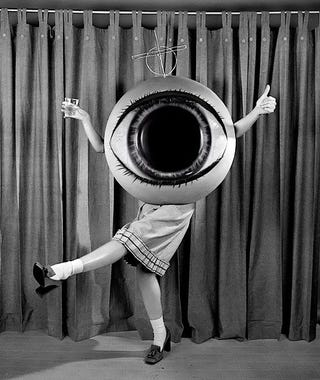 Illustration for article titled Concept Art Writing Prompt: The Girl Who Was a Giant Eyeball