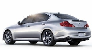 Illustration for article titled The Infiniti G25 Is A $2300 Lame-O  Discount Package