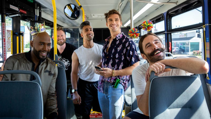 Illustration for article titled Queer Eye season 3 trailer shares premiere date, teases a brand-new Carly Rae Jepsen track