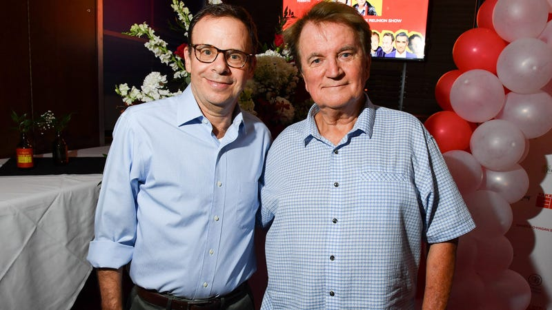 Moranis and Dave Thomas in 2017
