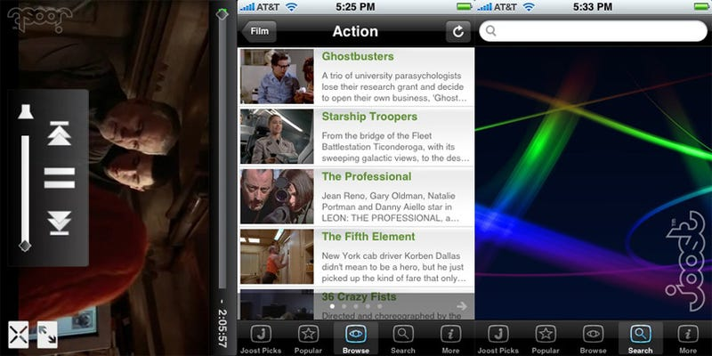 Illustration for article titled Joost Video Streaming iPhone App Makes Us Dream of Hulu
