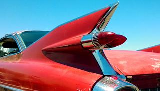 1959 Cadillac tailfin. Photo courtesy of author.