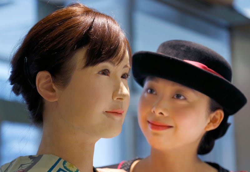 Illustration for article titled Meet the Humanoid Robot Greeting Retail Customers in Japan Today
