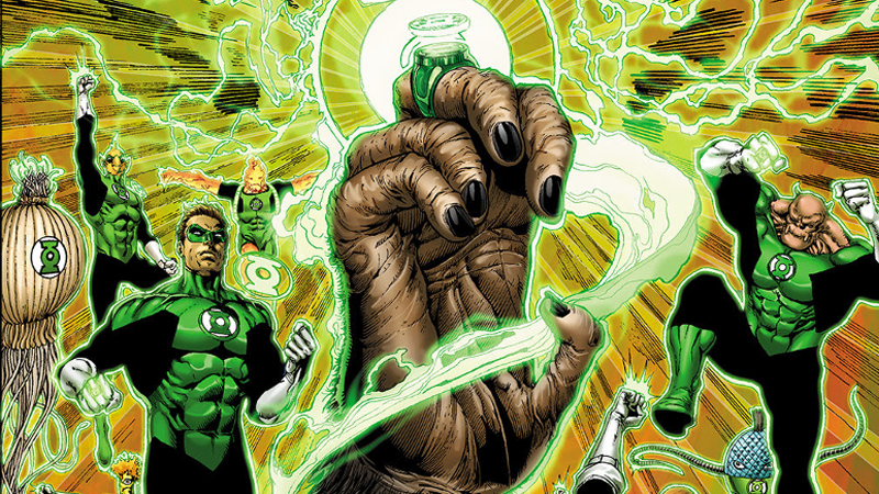 Illustration for article titled Green Lantern and Planet of the Apes Get the Comic Crossover We Never Knew We Needed