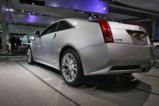 Illustration for article titled Cadillac CTS-V Coupe: Detroit Auto Show Photos