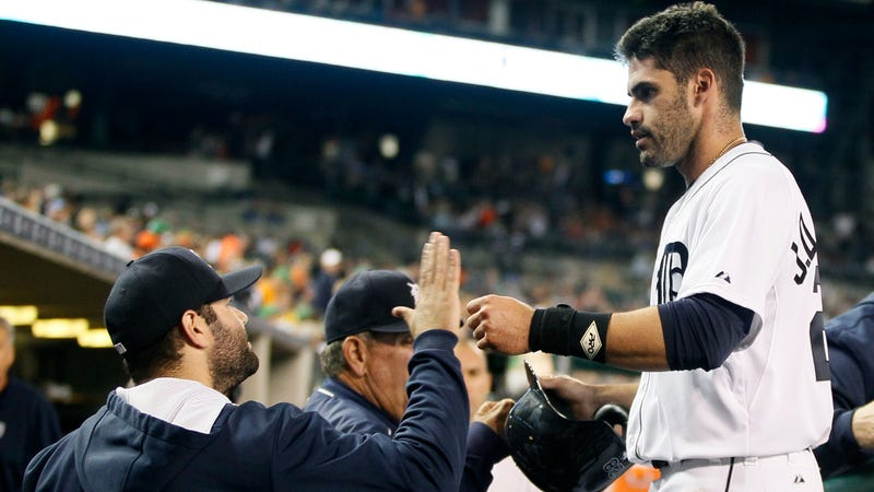 Illustration for article titled Tigers Officially Become Sellers, Send J.D. Martinez To Arizona