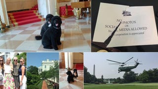 Get Ready To See Way More Humble-Braggy Photos From White House Visitors