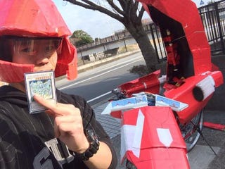 Illustration for article titled Teen Makes Sad Yu-Gi-Oh! Bike